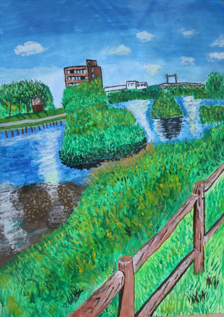 第25回水と緑の絵コンクール受賞作品(平成29年度)