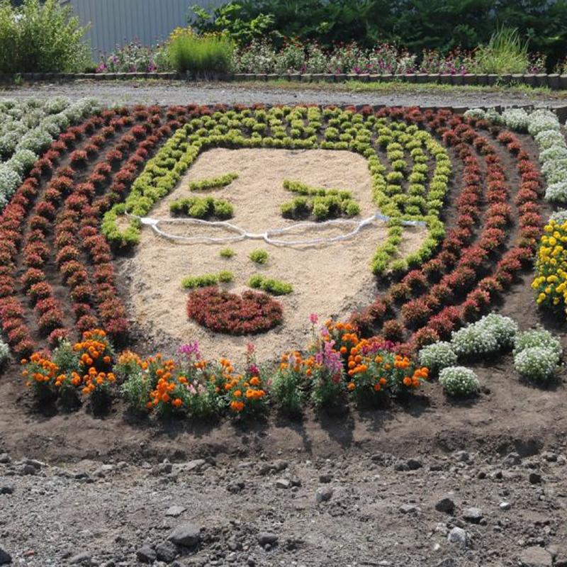 家族みんなで作る庭