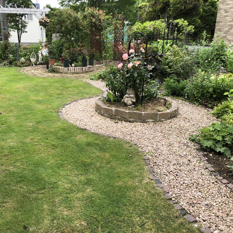 マイペースな庭作り