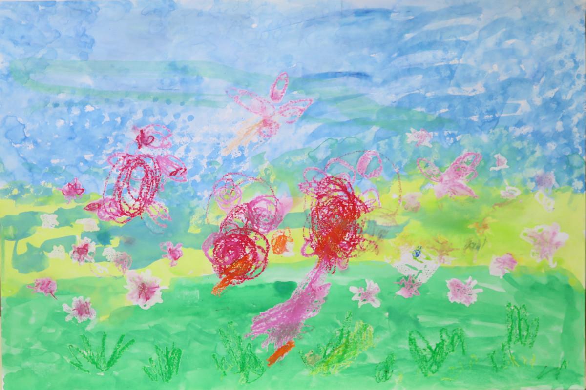 第27回花と緑の絵コンクール受賞作品(令和元年度)